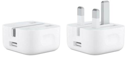 UK Apple Watch Charger with Folding Pins
