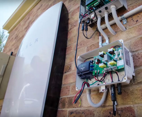 Video  First Tesla Powerwall System Installation On Tv