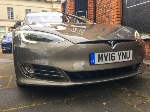 New Tesla Model S Facelift