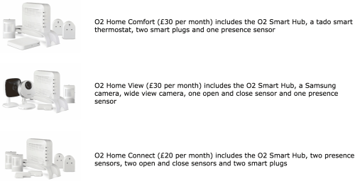 O2 Home Packages