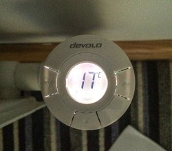 Devolo Home Smart Home Heating - TRV LCD