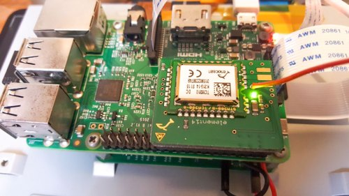Raspberry Pi and enOcean Board