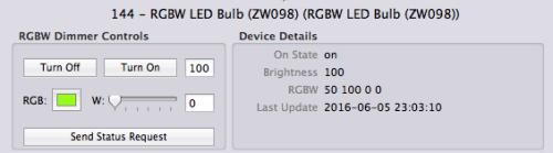 Indigo 7- RGB LED Control