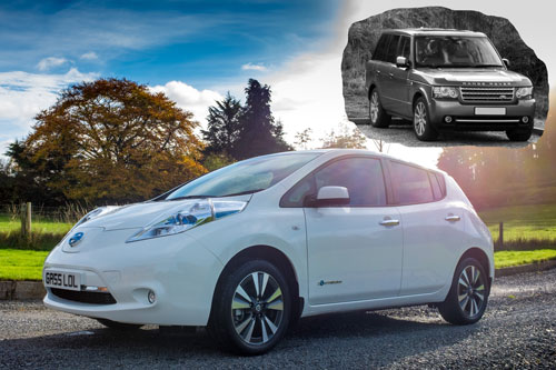Traded in Range Rover for Nissan Leaf EV