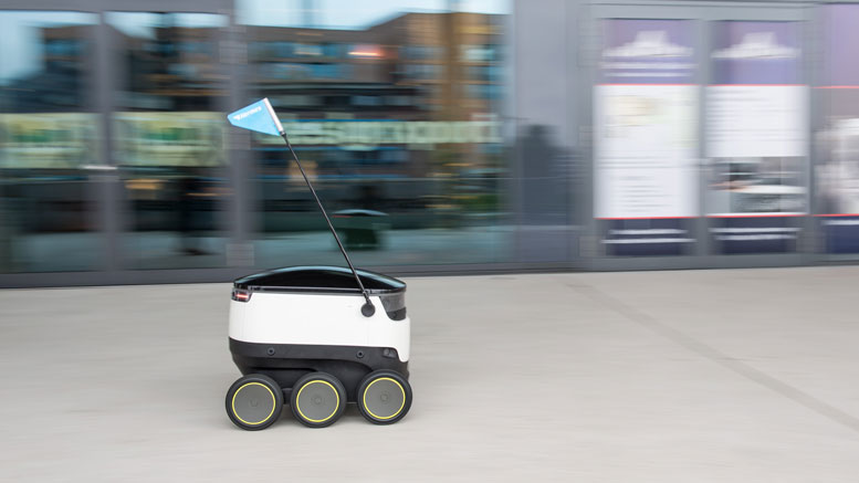 Self Driving Robots in London