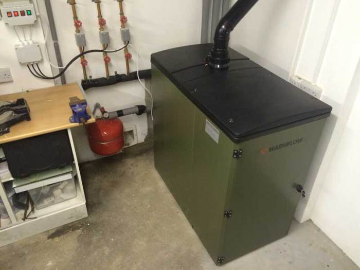 Draytek Wiser - Controlling Biomass Boiler