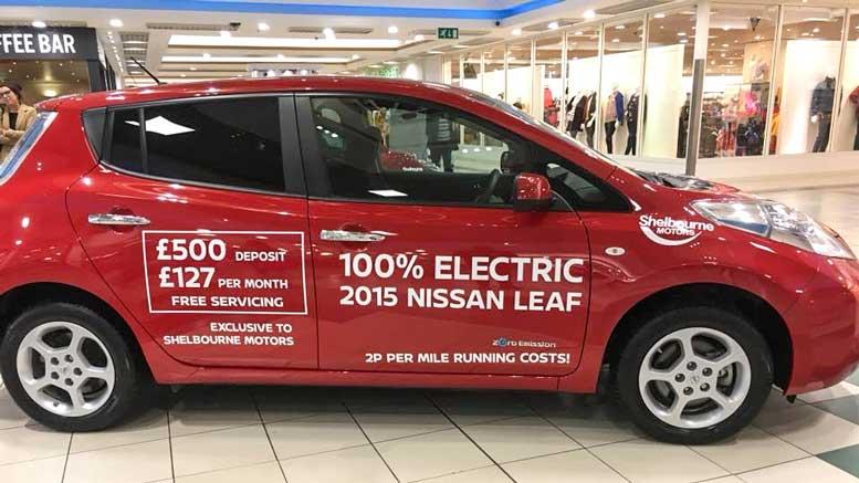 Cheap Nissan Leaf PCP Deal