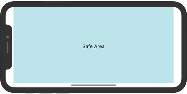 iPhone X Safe Area