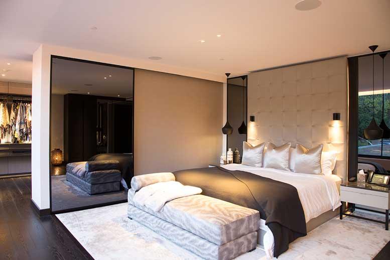 London Smart Home byPro Install AV - Bedroom