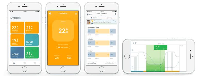 tado iOS App  - tado iOS app - tado Reveal New V3+ Smart Home Thermostats – Automated Home