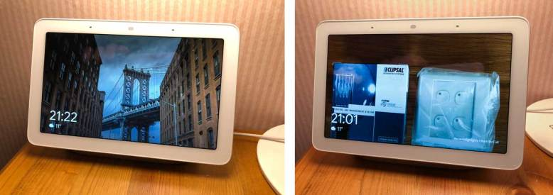 Google Home Hub as a Photo Frame