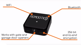 REMOOTIO IoT Garage Door & Gates Smart Home Interface