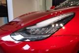 Tesla Model 3 - Headlight Detail