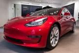Tesla Model 3 Arrives in Dublin Tesla Store