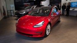 Tesla Model 3 Arrives in Dublin, Ireland