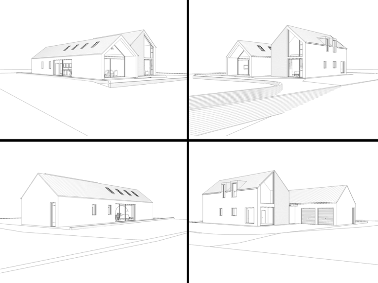 Automated Home 2.0 - Elevation Renders