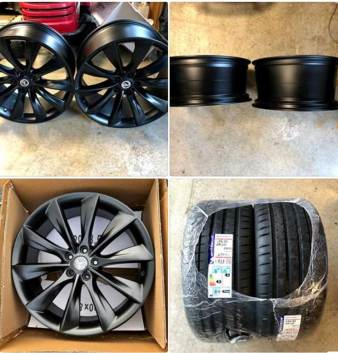 Tesla Model 3 - Wheel Upgrade