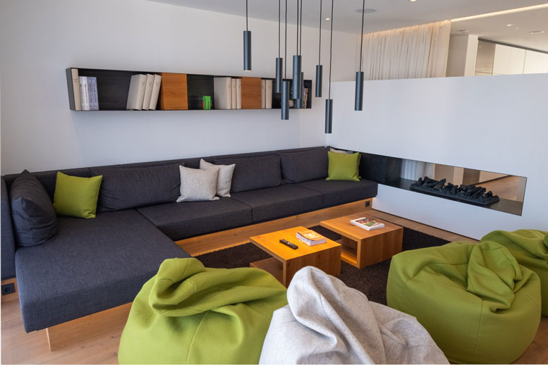 Loxone Show Home - Lounge