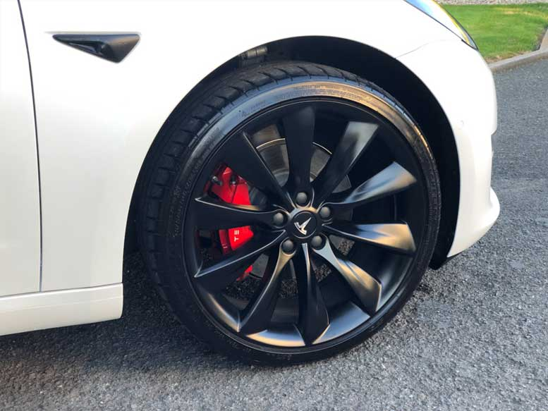 "20"" Wheels on UK Tesla Model 3"