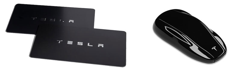 Tesla Model 3 UK - Key Cards and Fob