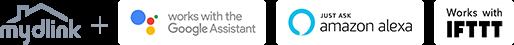 mydlink, Google Assistant, Amazon Alexa & IFTTT