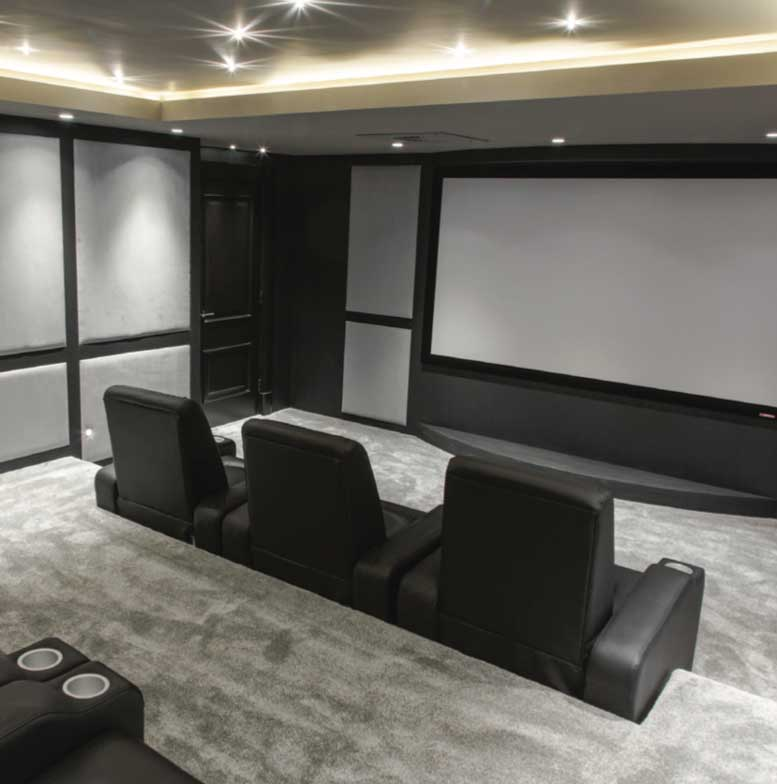 Crestron UK Home Cinema
