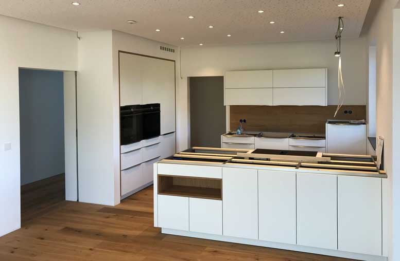 Austrian Self-Build - Loxone Kitchen Lighting