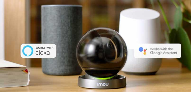 IMOU Ranger IQ - Alexa en el Asistente de Google