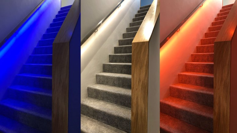 LED Stair Handrail Tutorial