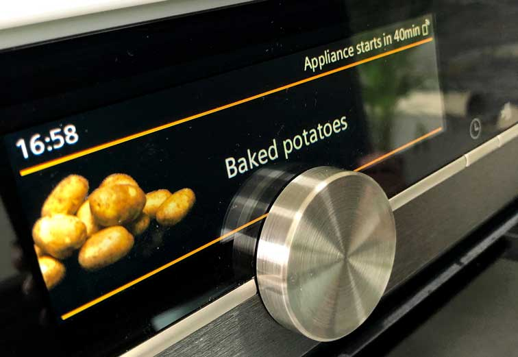 Siemens Oven - Baked Potato