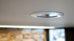 Loxone Flush Mount Presence Sensor Tree - Installed in Ceiling