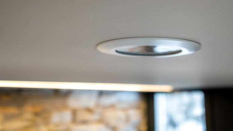 Loxone Flush Mount Presence Sensor Tree - Installed in Ceiling