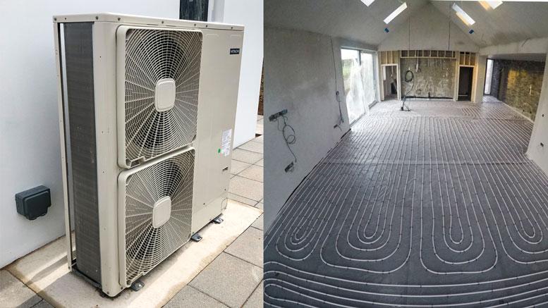 Heat Pump - Automated Home