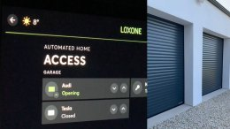 Loxone Garage Door Interface
