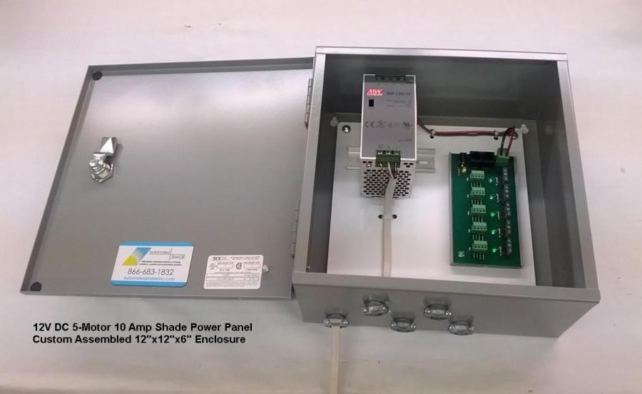 Somfy 5Motor Power  Distribution Control Board 1870193  Automated Shade Online Store