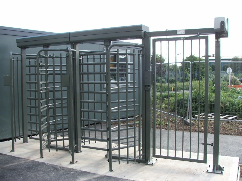 Full Height Turnstile with DDA Access Gate