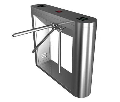 Magnetic Card Stainless Steel Tripod Turnstile Gate for Supermarket