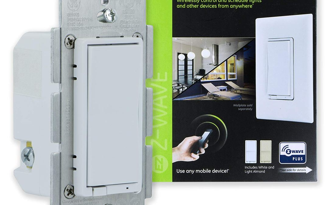 GE Z-Wave Plus Smart Lighting Control Switch Review