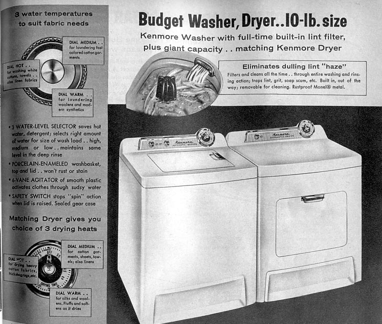 kenmore range parts diagram waterway executive spa pump wiring fun vintage washing machine ephemera