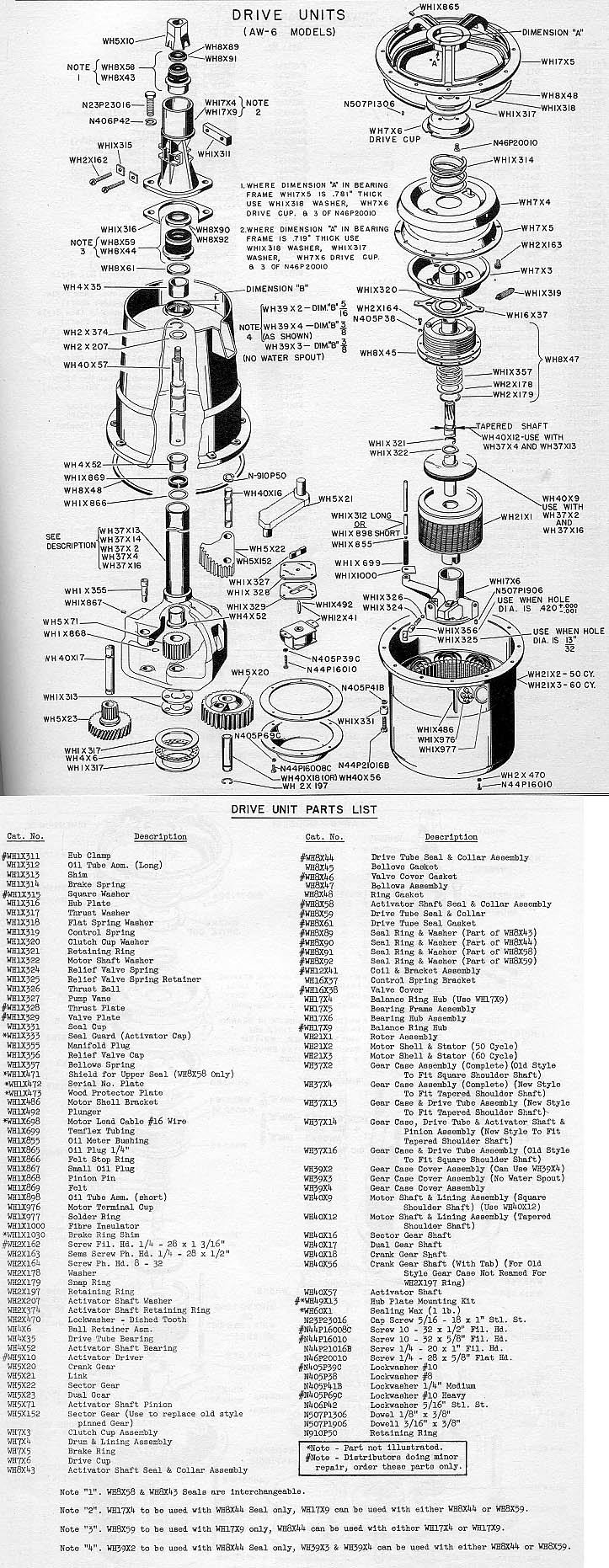 medium resolution of 1947 general electric aw6 washer transmission explanation 1951 ge washer i hope this is the before shot chart showing water flow in 1958 ge filter flo