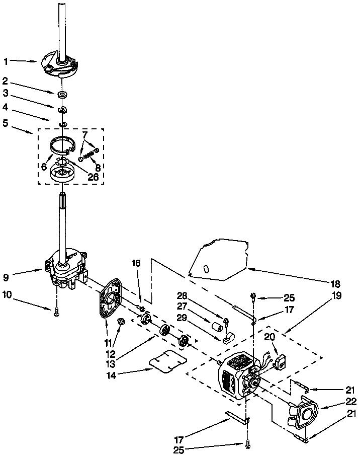 Lady Kenmore electronic washer dryer set