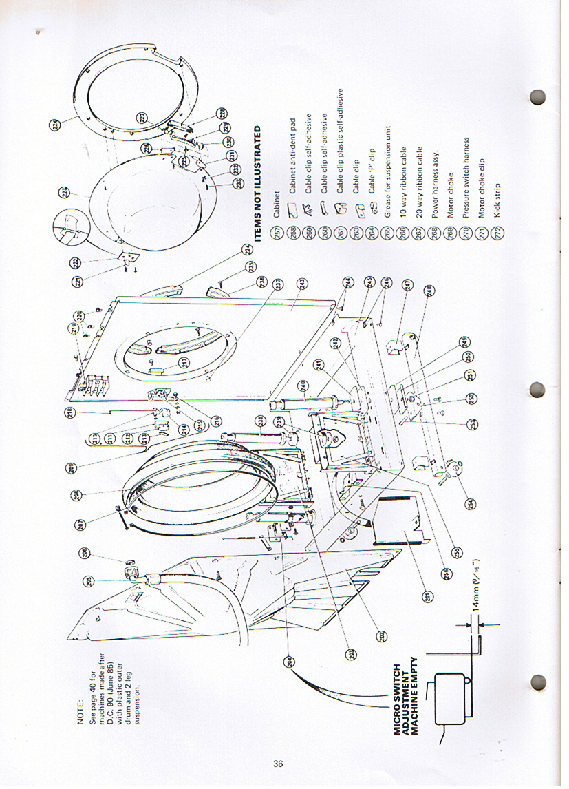 Hotpoint 18780 Microtronic X2000 Service Manual