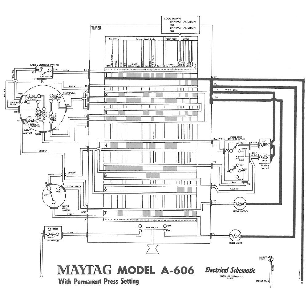 Testing a 70's Maytag A606 Motor