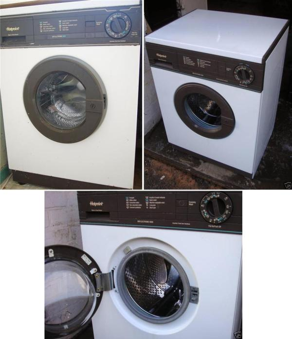 Hotpoint Old Washer and Dryer