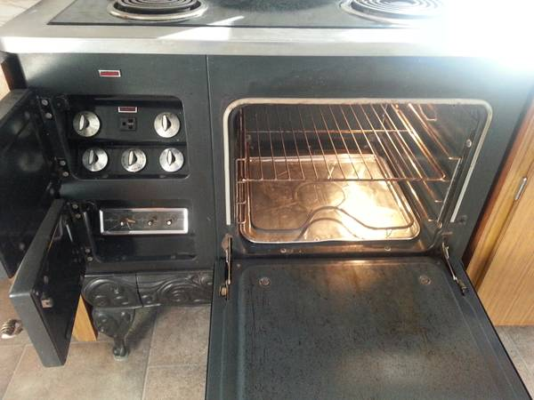 1969 sears country kitchen retro electric stove  400