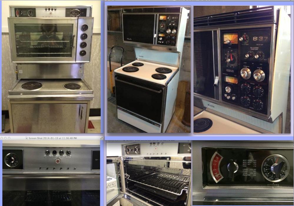 vintage tappan stoves