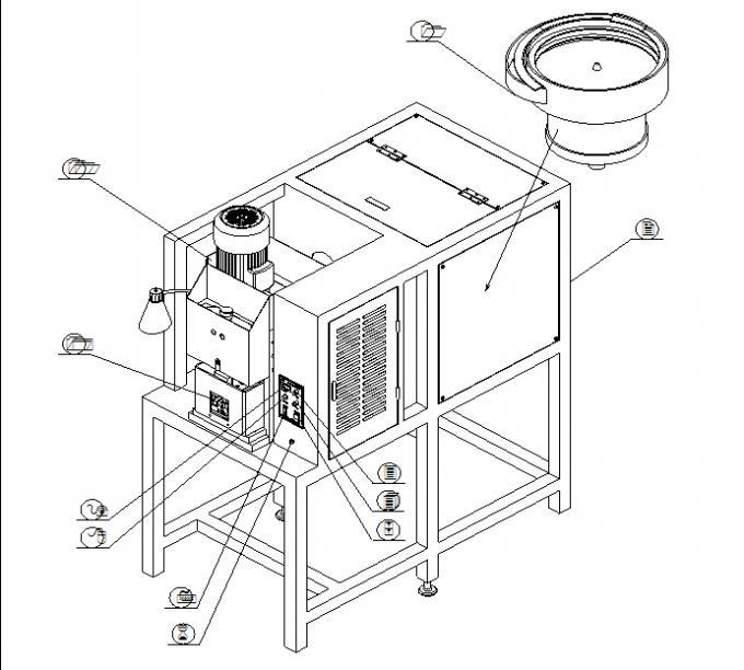 BS 1363 Automatic Wire Crimping Machine , Auto Plug