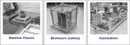 structural aluminum extrusions tslots