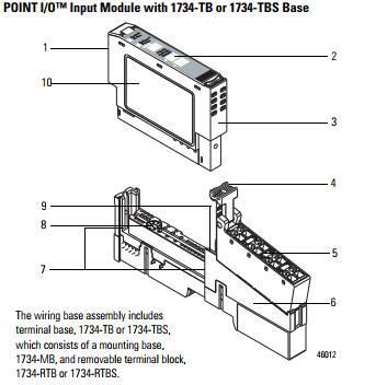Allen-Bradley 1734-OB4 1734-0B4 Output Module Series C