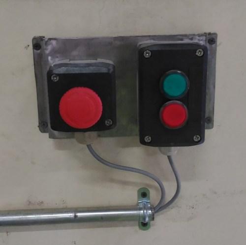 small resolution of push button dan indikator